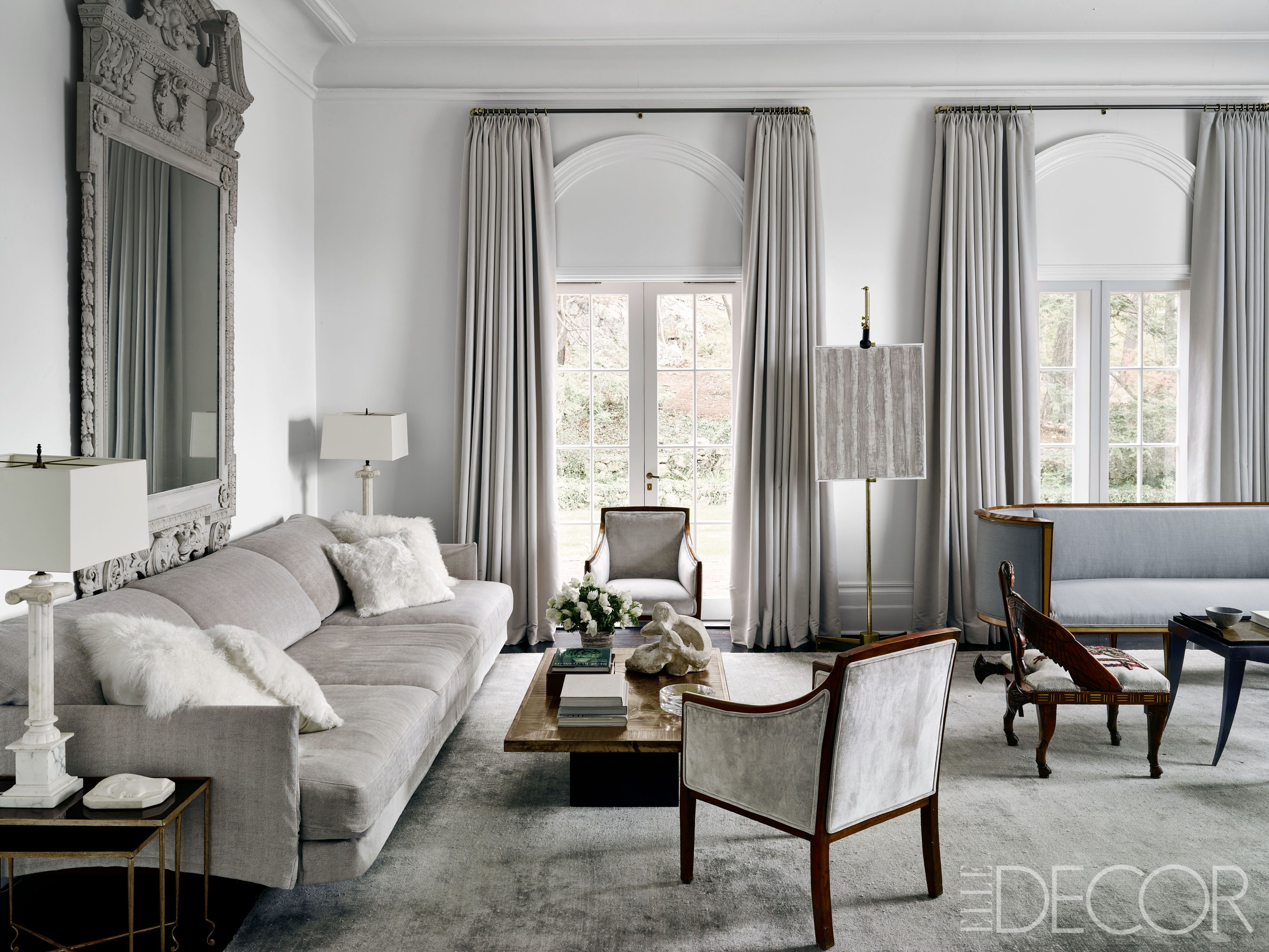 27 Best Gray Living Rooms Ideas How To Use Gray Paint And