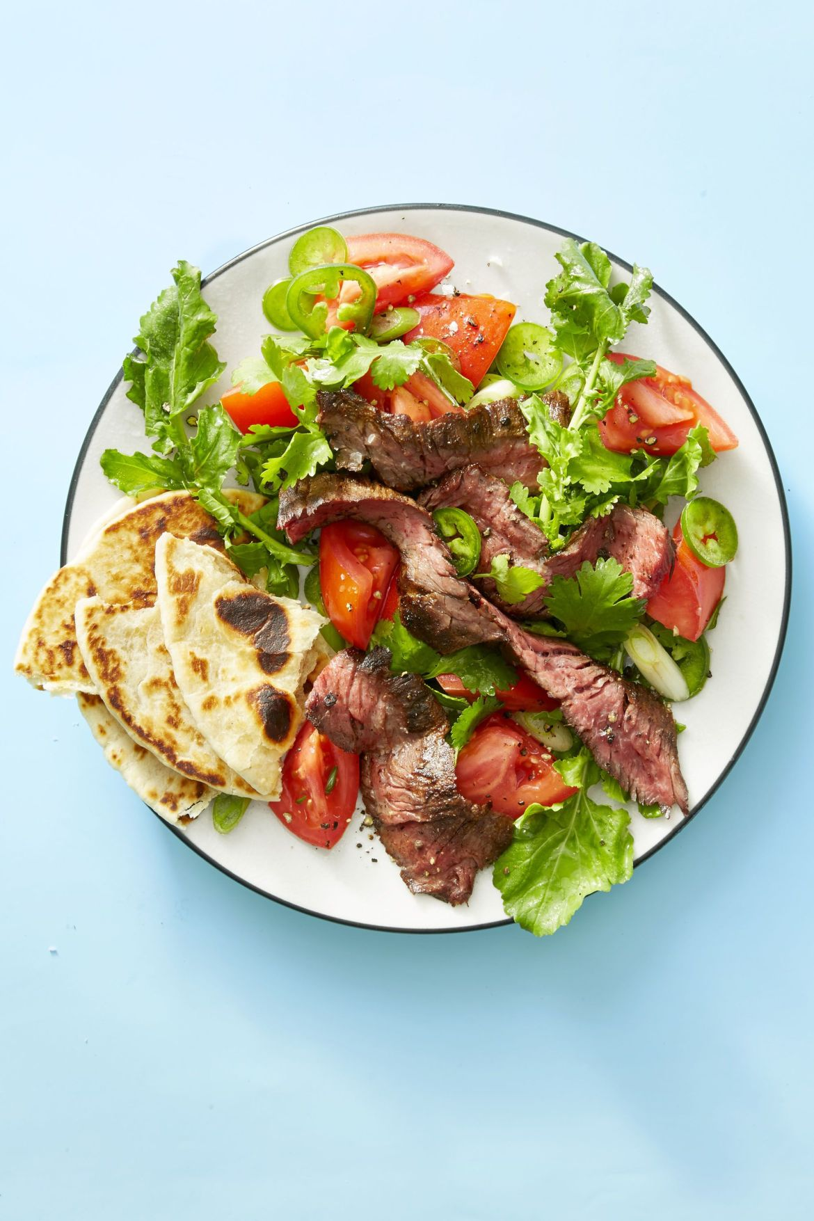 grilled steak tortilla salad ghk 0528 1524087142 - Healthy Things to Eat for Lunch -19 Healthy Lunch Ideas for You