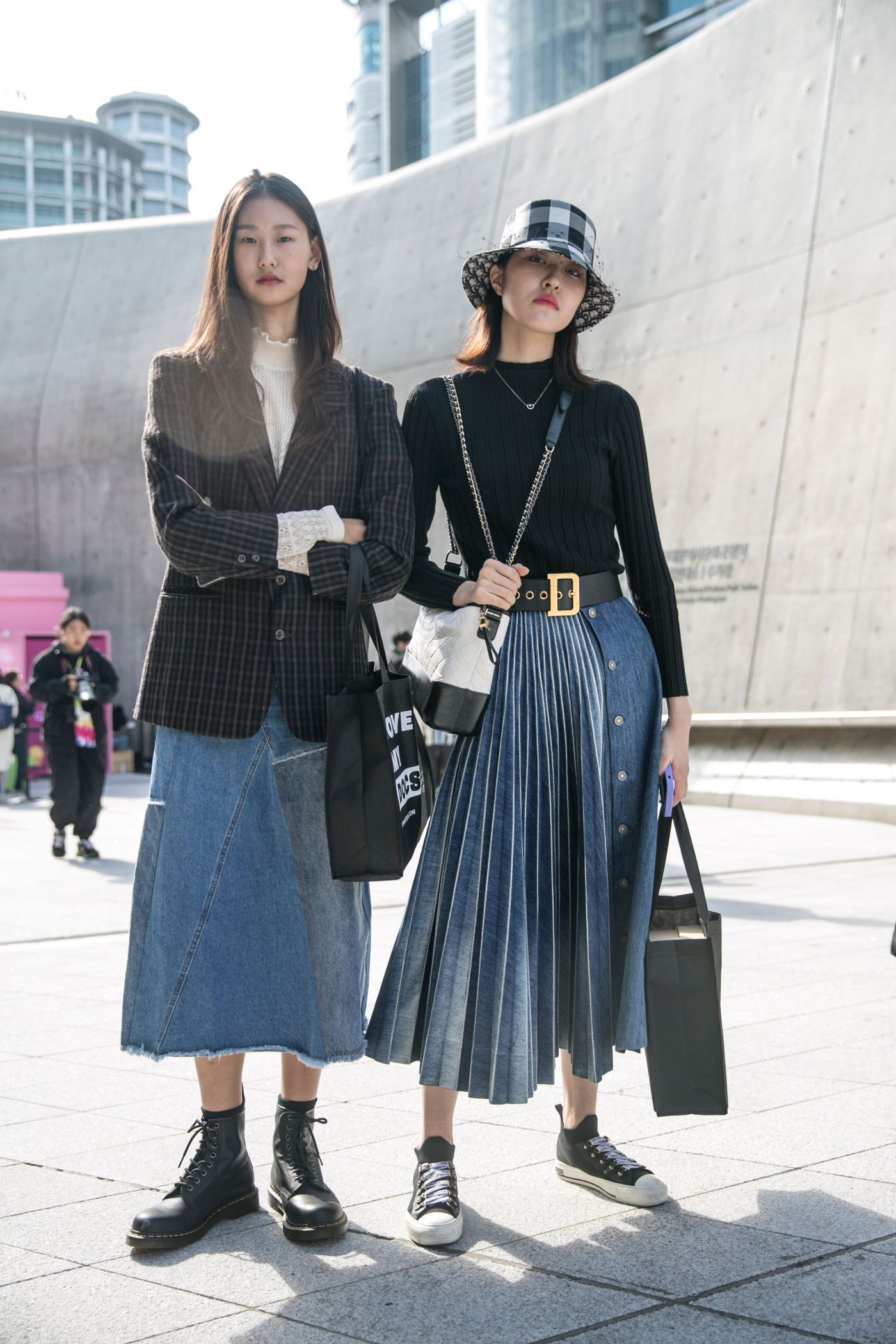 street style seoul fashion week 2020 ss day 5