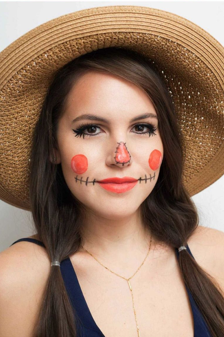 easy face painting ideas for cheeks halloween | newchristmas.co