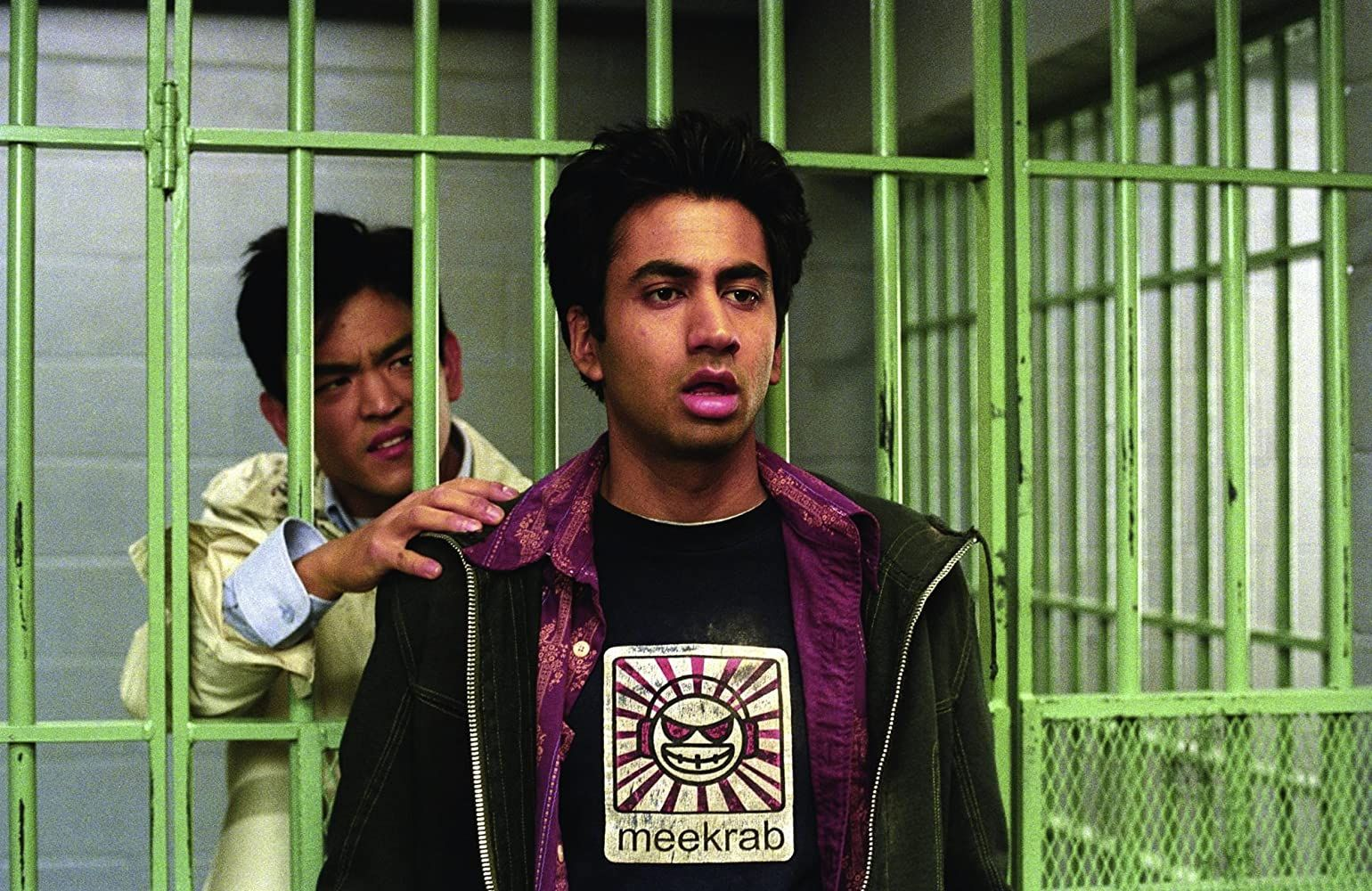 John Cho and Kal Penn in Harold & Kumar Go to White Castle