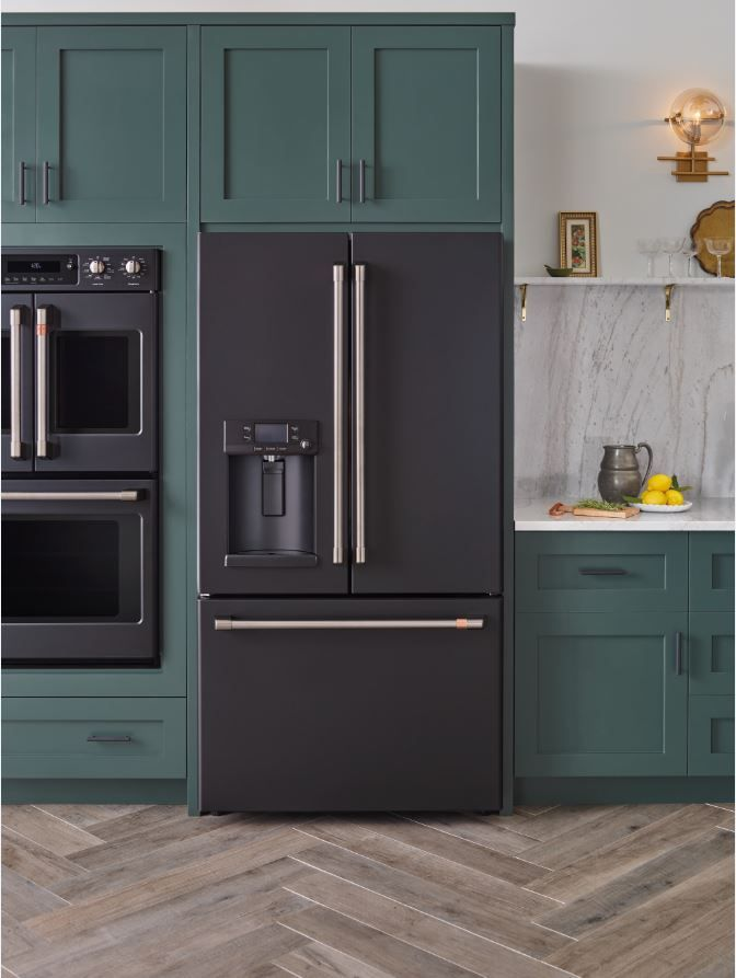 this new matte white kitchen line is so