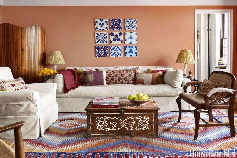 15 Best Living Room Color Ideas  Top Paint Colors for