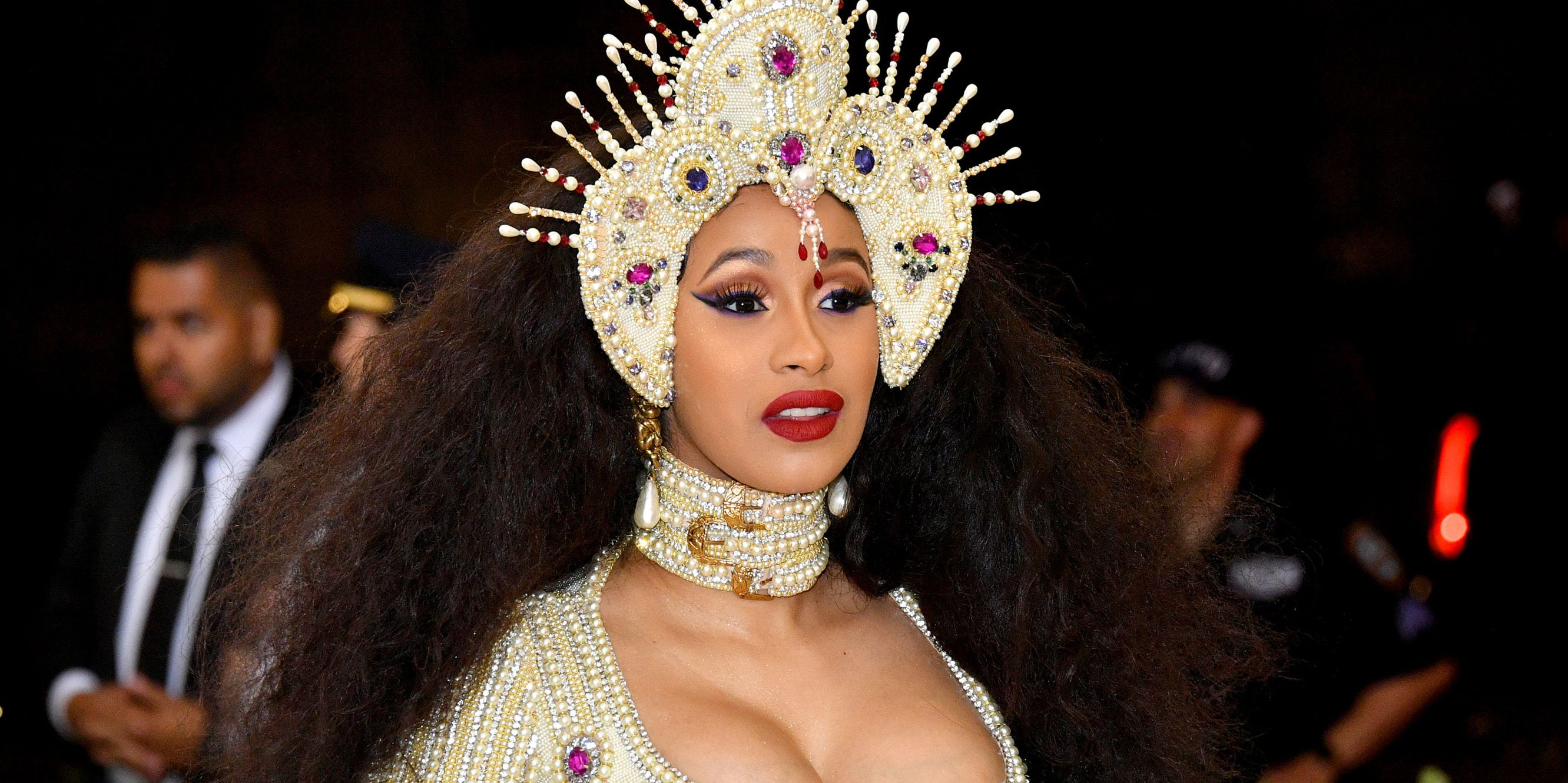 Cardi B Teased The Sex Of Her Baby Right Before The Met Gala