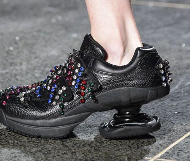 Christopher Kane Orthopedic Shoes London Fashion Week Christopher Kane Ugly Shoes London Fashion Week Fall