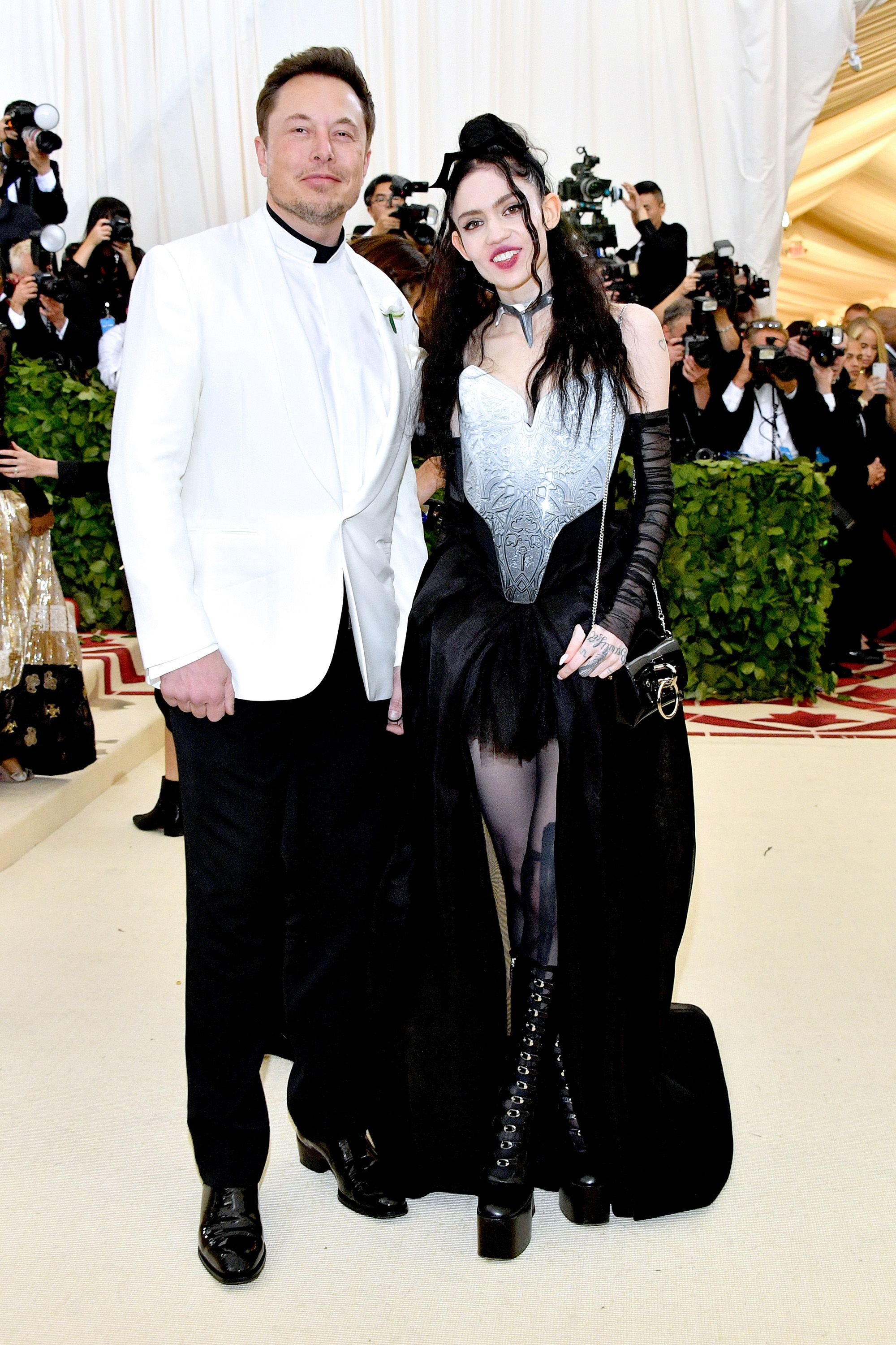 Who Is Elon Musk Takes New Girlfriend Grimes To Met Gala 2018 Image