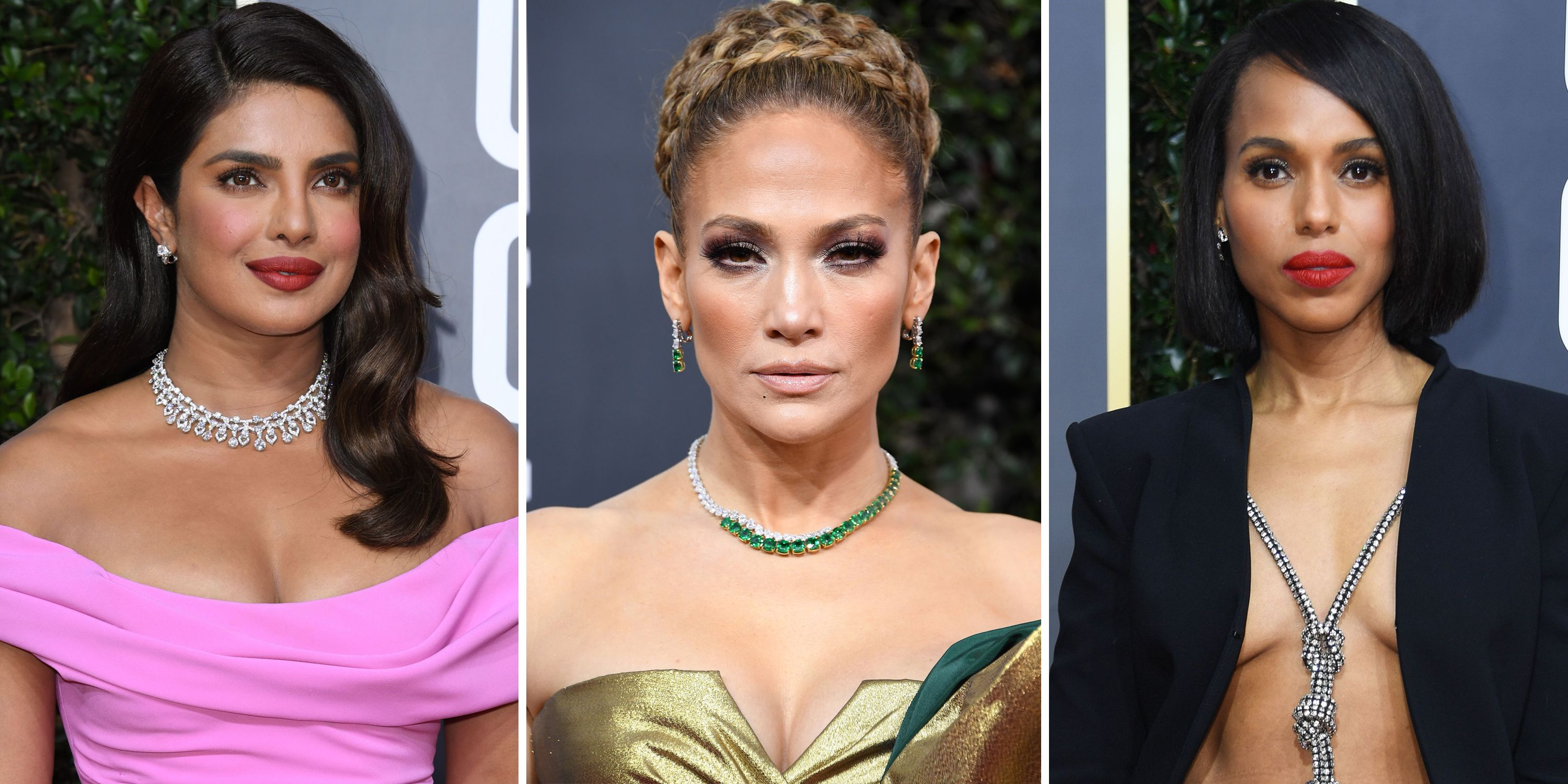 Golden Globes 2020 Best Hair And Makeup Beauty Looks From The Red