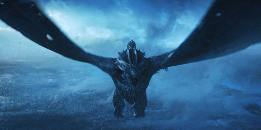 Image result for Viserion Joins The Army Of The Dead