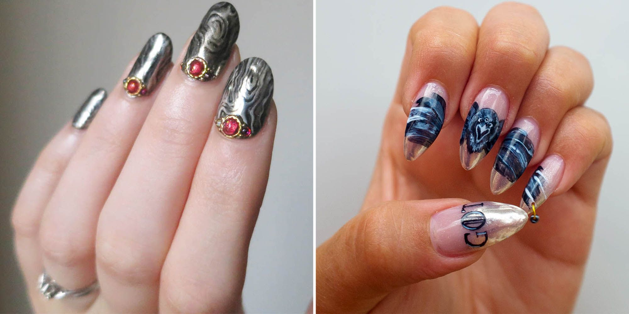 Game Of Thrones Nail Art Designs Inspired By Season 7