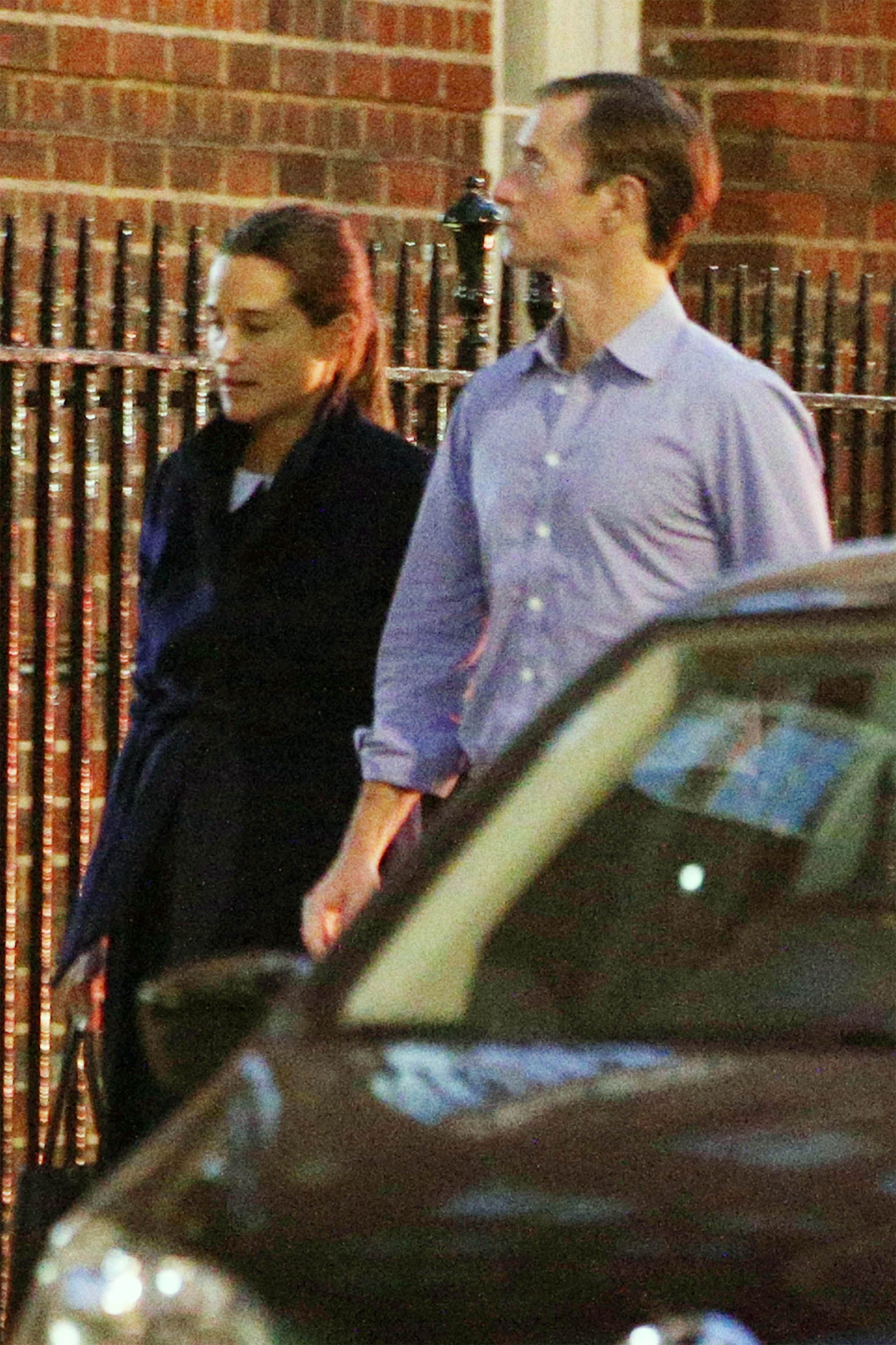 Pippa Middleton Photographed Arriving To The Hospital