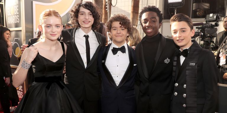 stranger things golden globes