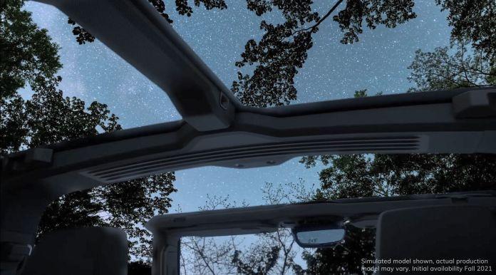 hummer ev   open air