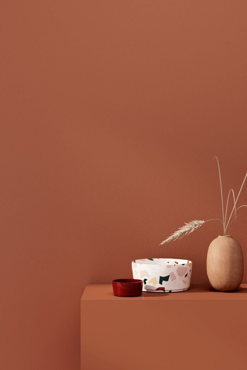 paint colors 2020- terracotta wall