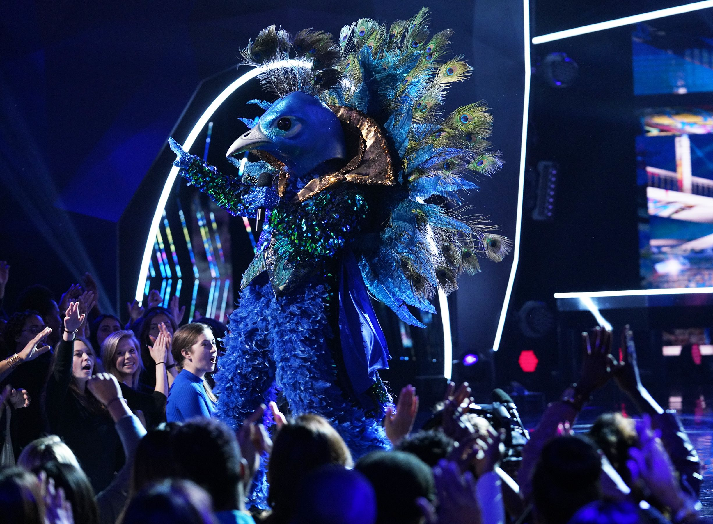 Is Donny Osmond The Peacock On The Masked Singer