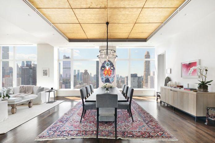 The attic of Jennifer Lawrence in Manhattan