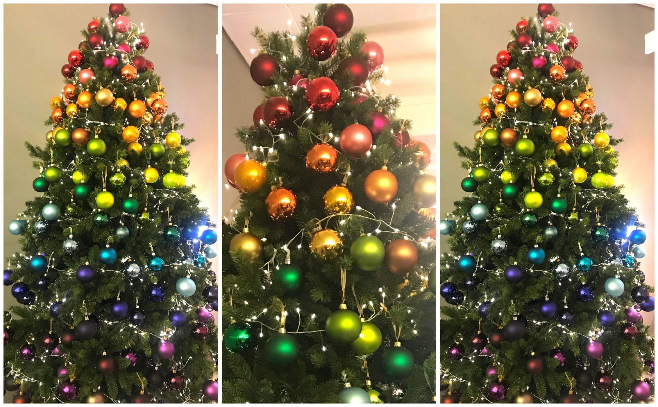 Rainbow Christmas Trees Will Be Biggest Christmas 2018