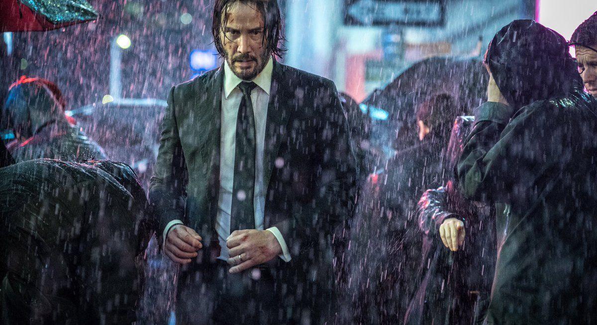 john wick 3 lluvia