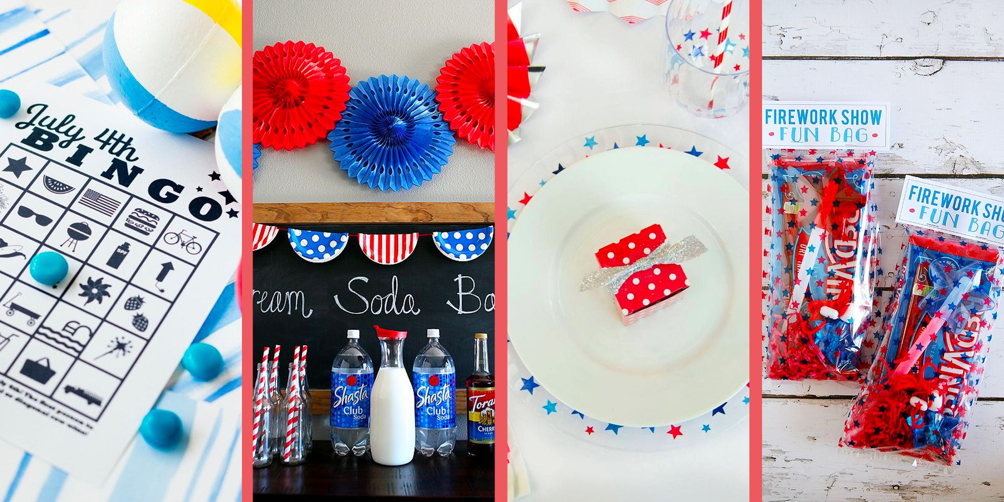 30 Best Diy 4th Of July Party Ideas Decorations Games More
