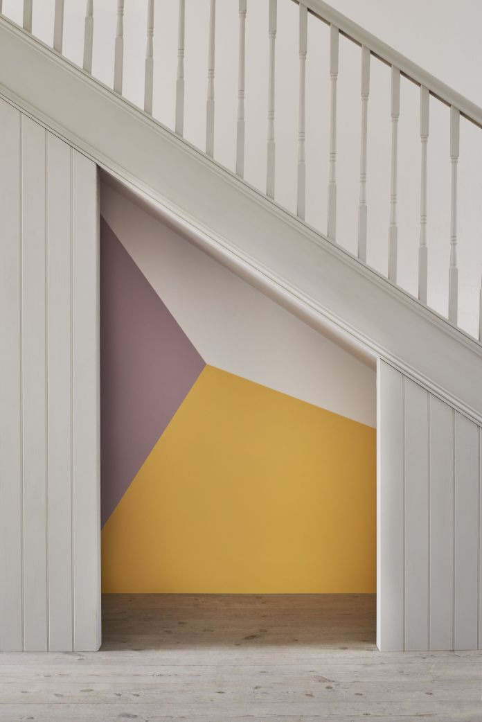 how to create a cool under the stairs room for the kids