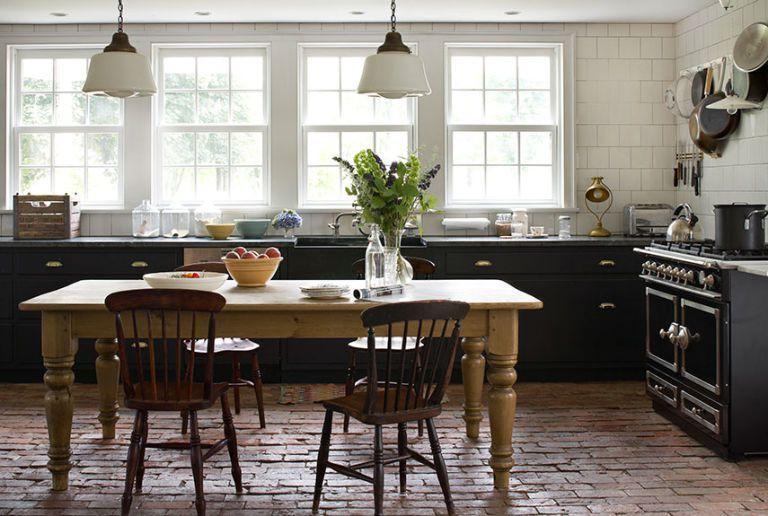kitchen flooring ideas brick