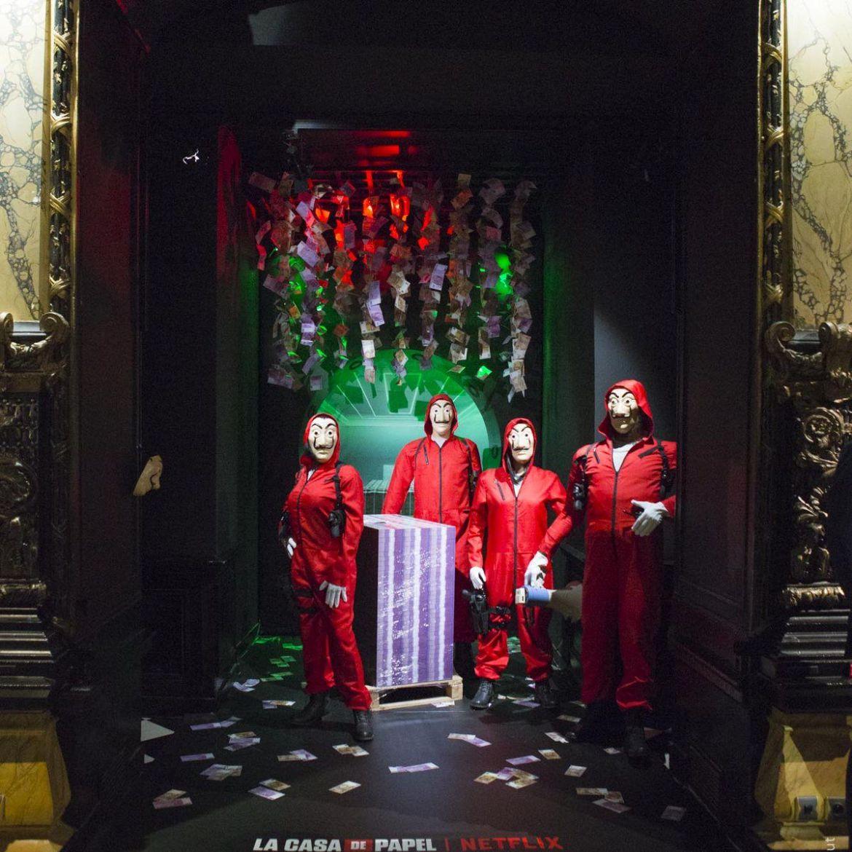 Nuevo atraco: 'La casa de papel' asalta el Museo de Cera de París