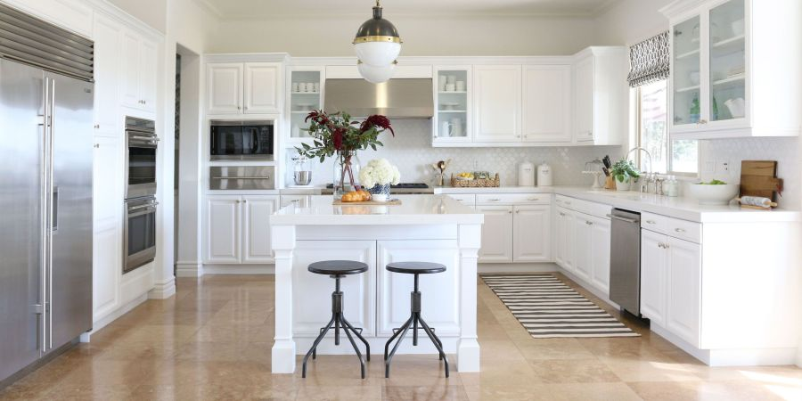 100  Great Kitchen Design Ideas   Kitchen Decor Pictures White Kitchen Cabinets