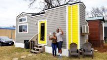WATCH: This African-American Millennial Couple Shares What It's Like Quarantining in Their 200 Sq. Foot Tiny Home