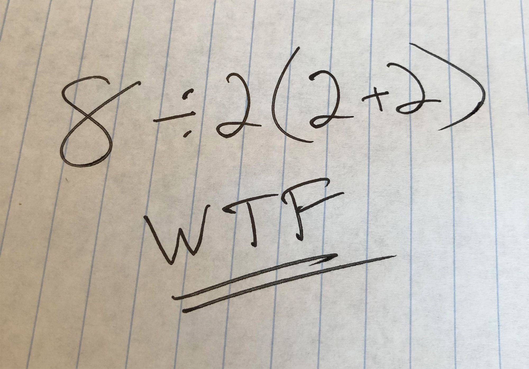 Crazy Math Equation That Equals 1