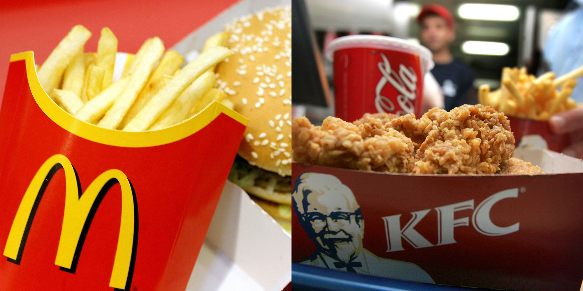 KFC and McDonald's may soon be forced to calorie cap their ...
