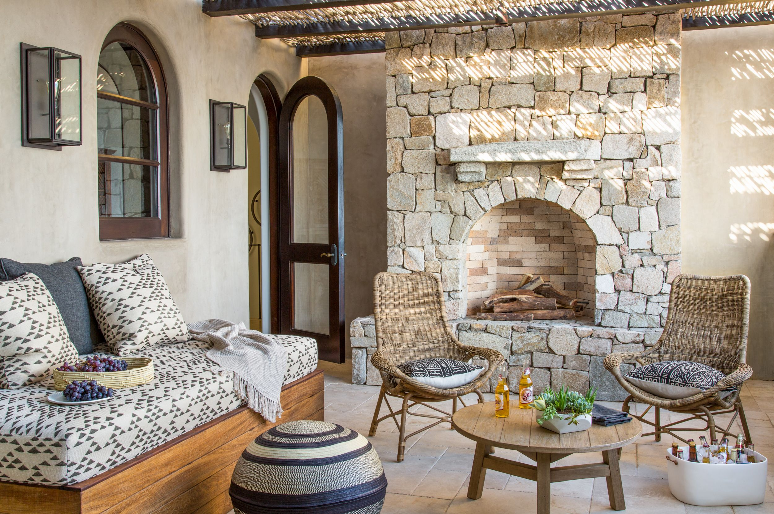 What Is The Mediterranean House Style Characteristics Of