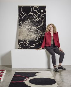 Kelly Hoppen Launches Range Of Mickey Mouse Rugs