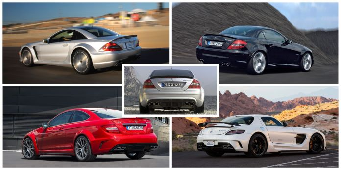 A Look Back At All The Mercedes Amg Black Series Models