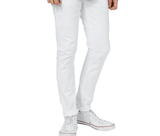 Topman White Stretch Skinny Jeans