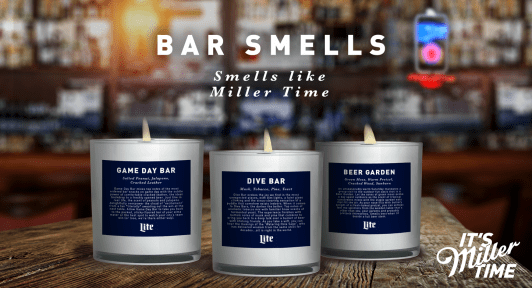 Miller Lite Made Candles That Smell Like Bars