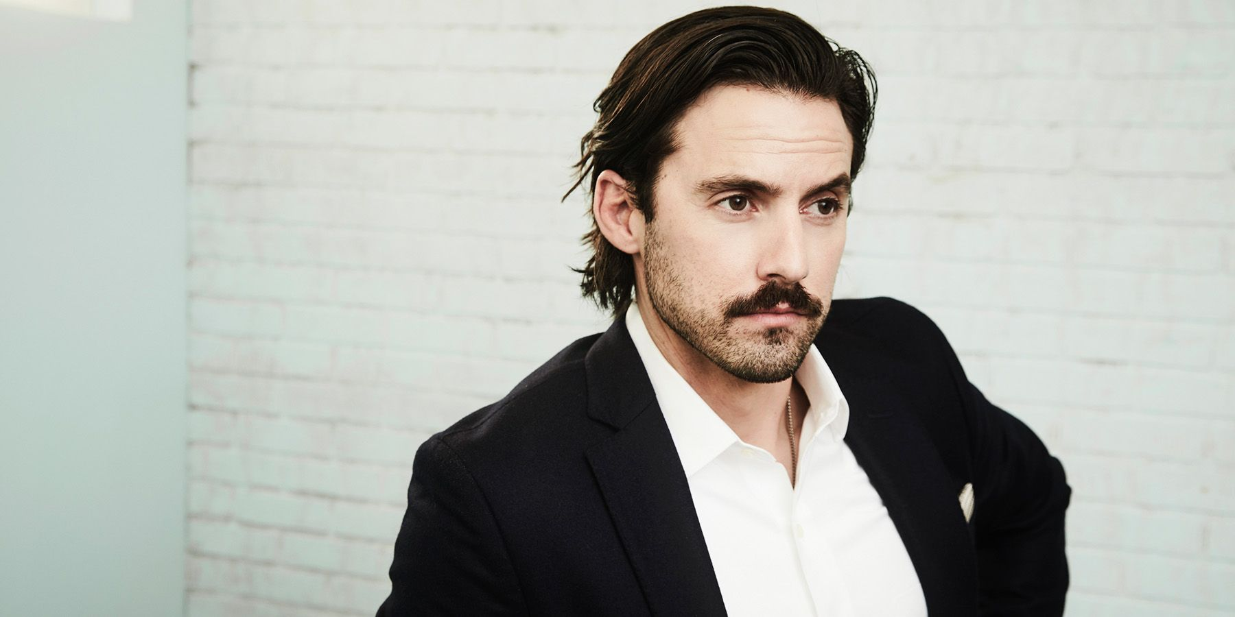 Milo Ventimiglia Believes in Denim on Denim and Hemingway s Mustache image  Getty Images  Milo Ventimiglia