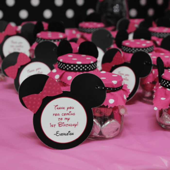 1st Birthday Minnie Mouse Party Idea 1st Birthday Ideas