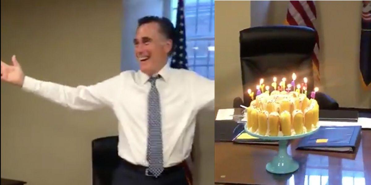 Behold The Simple Wonder Of Mitt Romney S Twinkie Cake