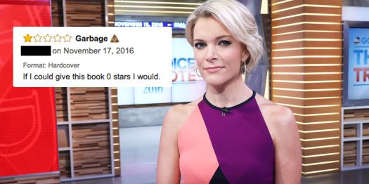 Image result for amazon one star reviews for megyn kelly