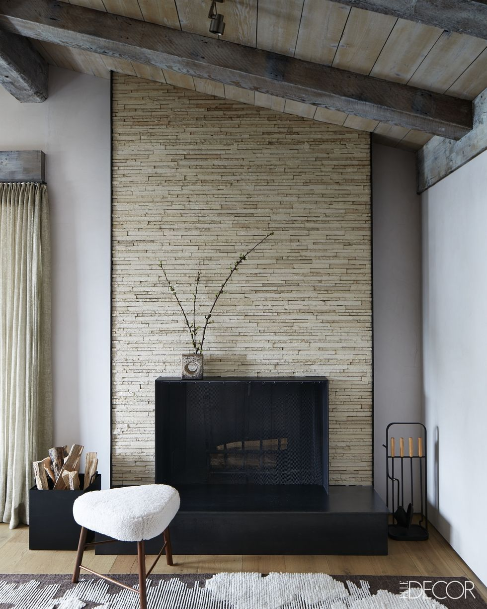 20 Chic Modern Fireplaces Contemporary Fireplace Design