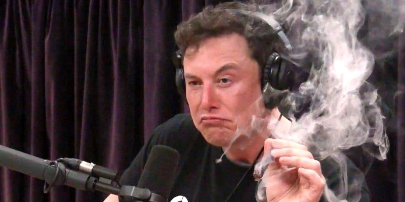 Elon Musk Smokes Weed, Makes Ass of Self in Interview with Joe Rogan 1