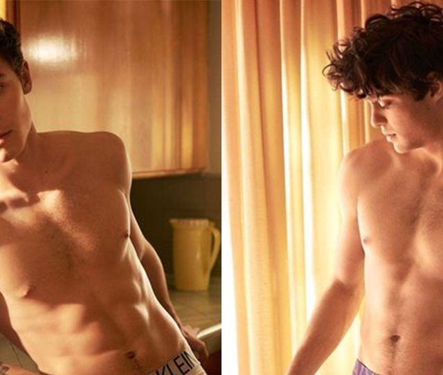 Shawn Mendes And Noah Centineo Go Almost Completely Nude In New