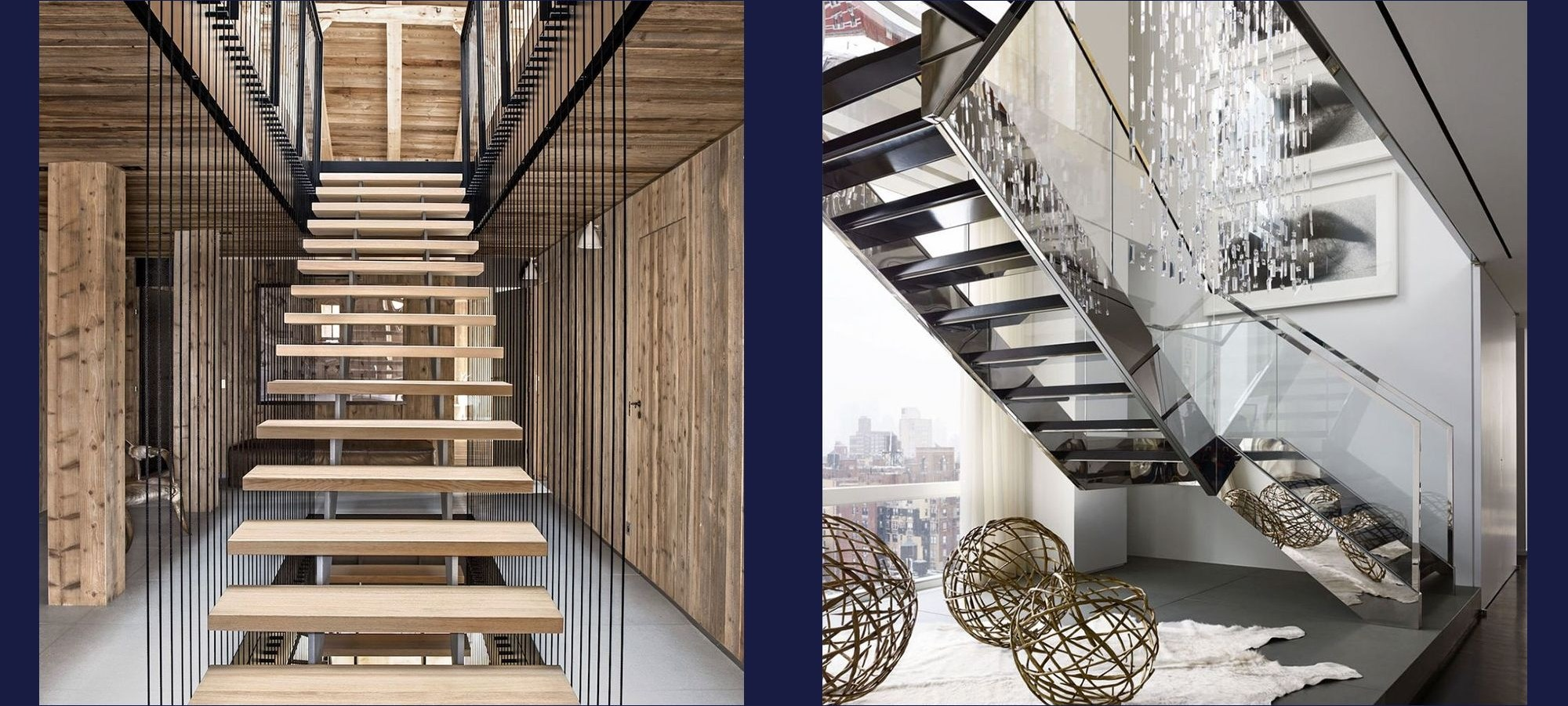 20 Striking Open Stairs Modern Open Staircase Design Ideas   Stairs Made Of Wood   5 Step   Elegant   Solid Oak   Traditional   3 Step