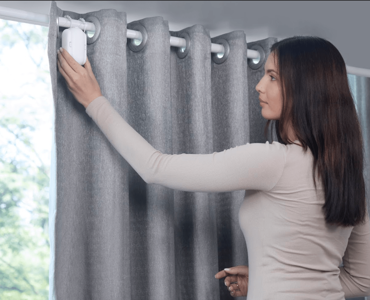 make any dumb drapes smart with the