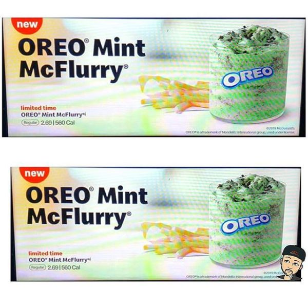 Oreo Mint McFlurries Are Being Spotted At McDonald