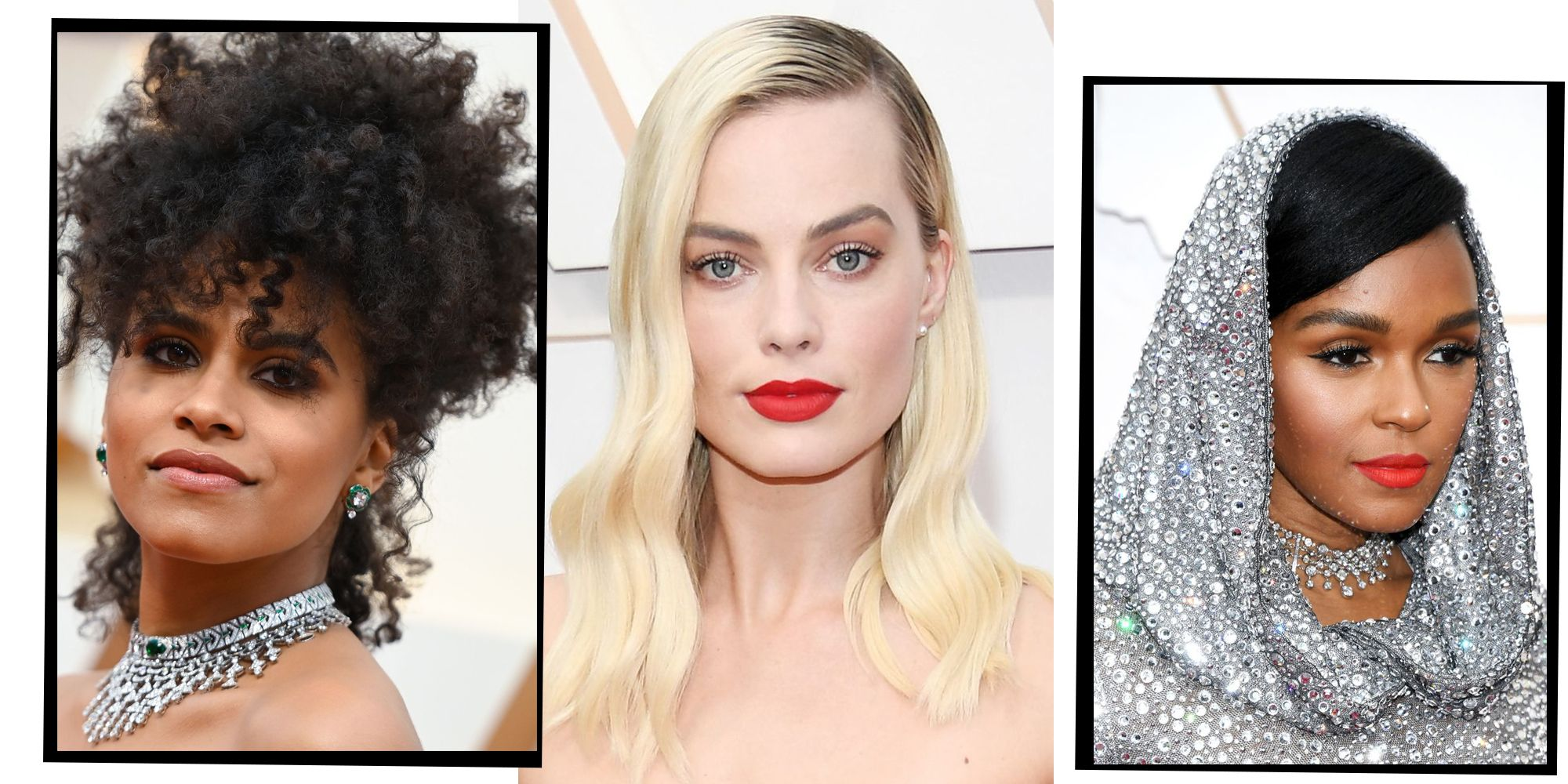 Oscars 2020 The Best Hair And Make Up Looks Direct From The Red
