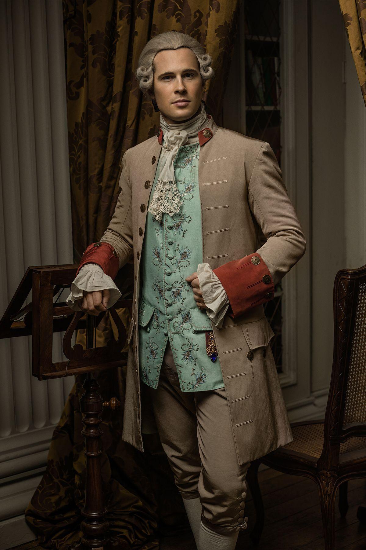 Outlander David Berry as John Grey