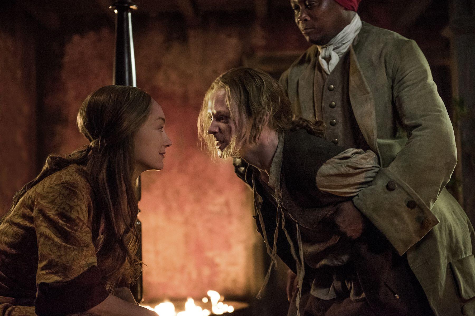 Outlander Season 3 Finale Geillis Young Ian