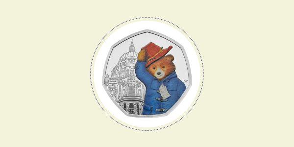 paddington bear 50p coins # 25