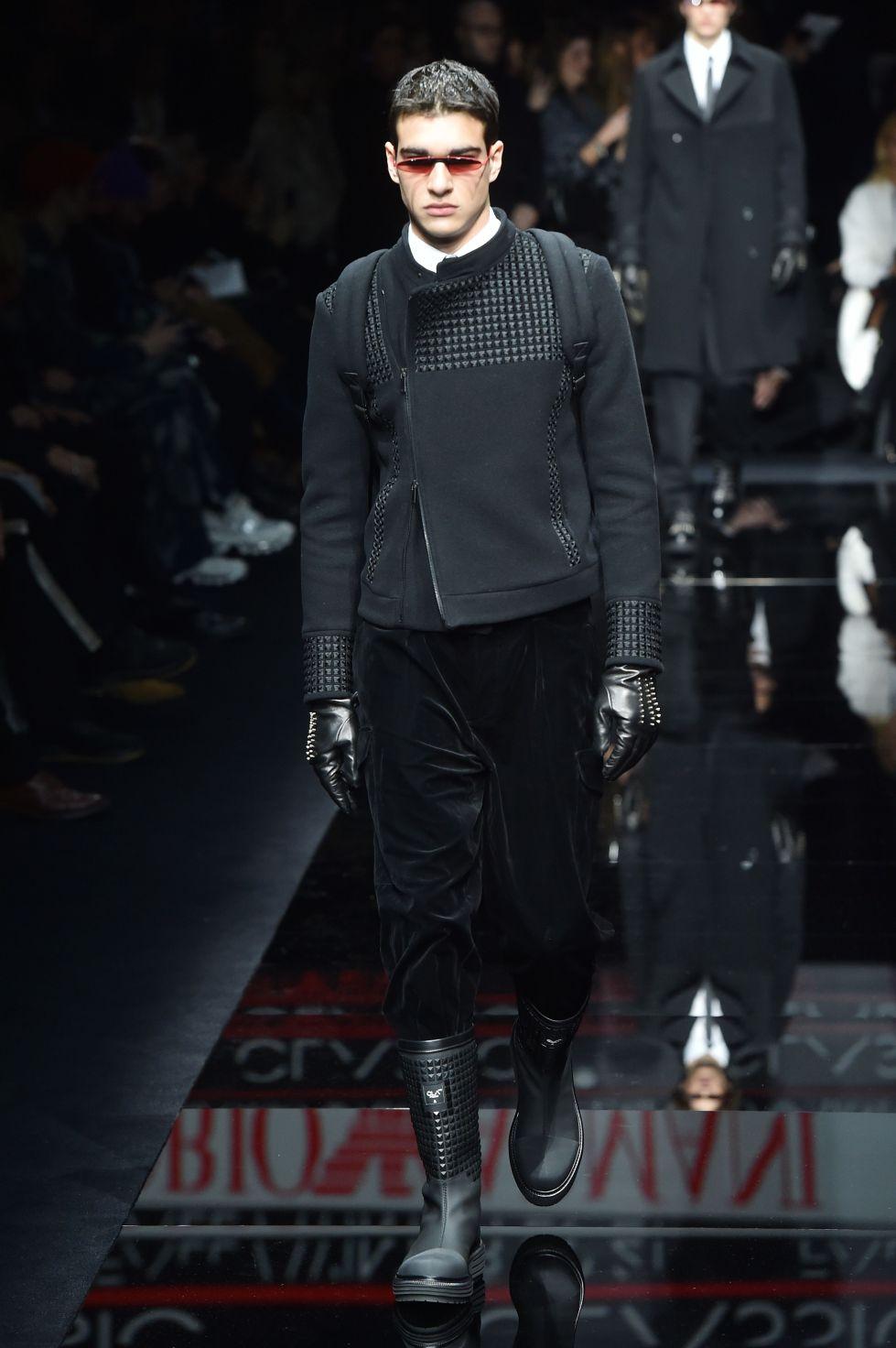 pantaloni uomo autunno inverno 2020 2021 -  armani (2)