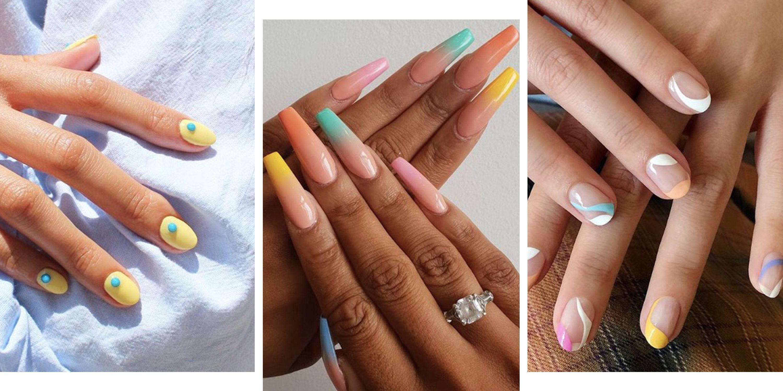 Pastel Nails 20 Gorgeous Pastel Nail Designs